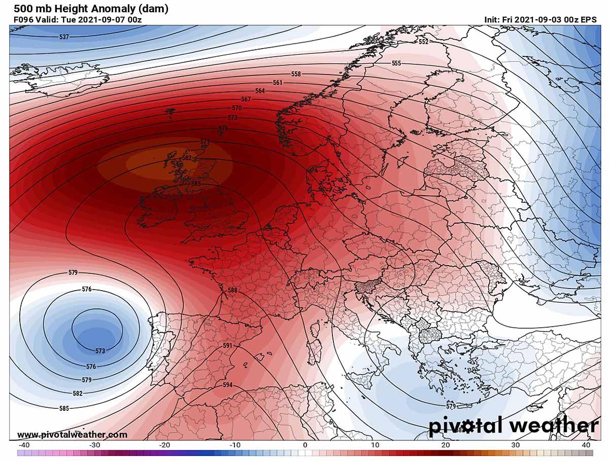 autumn-heatwave-france-england-omega-blocking-pattern