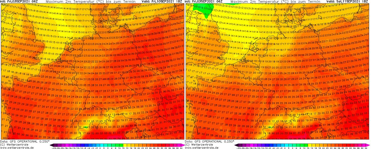 autumn-heatwave-france-england-temperature-central-europe