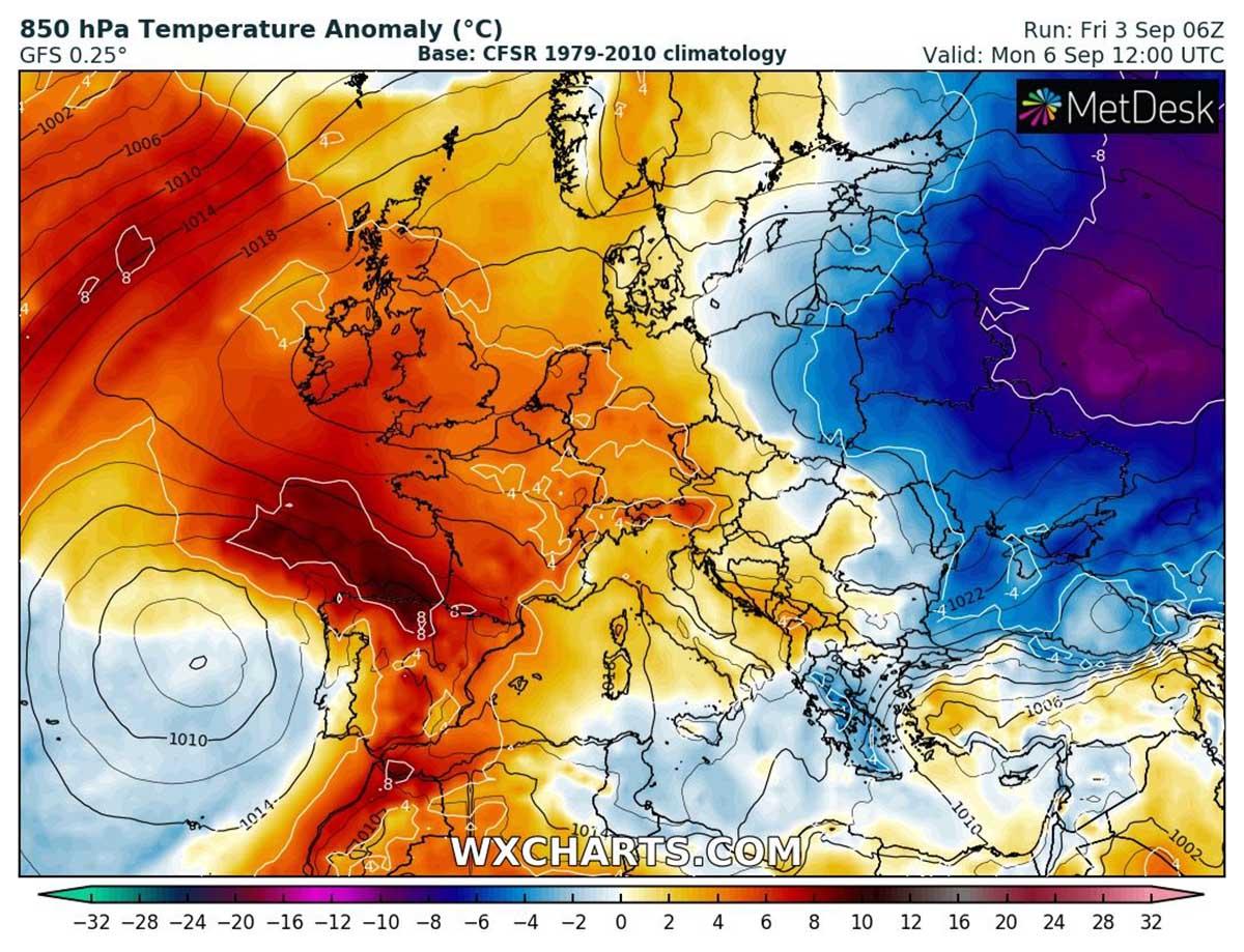 autumn-heatwave-france-england-temperature-monday