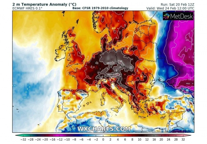 sahara-dust-storm-warm-wave-europe-2m-temperature-anomaly-wednesday