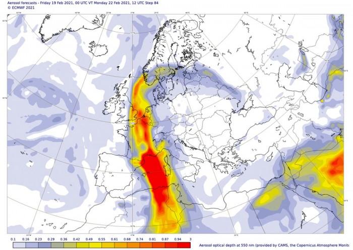sahara-dust-storm-warm-wave-europe-monday-advection