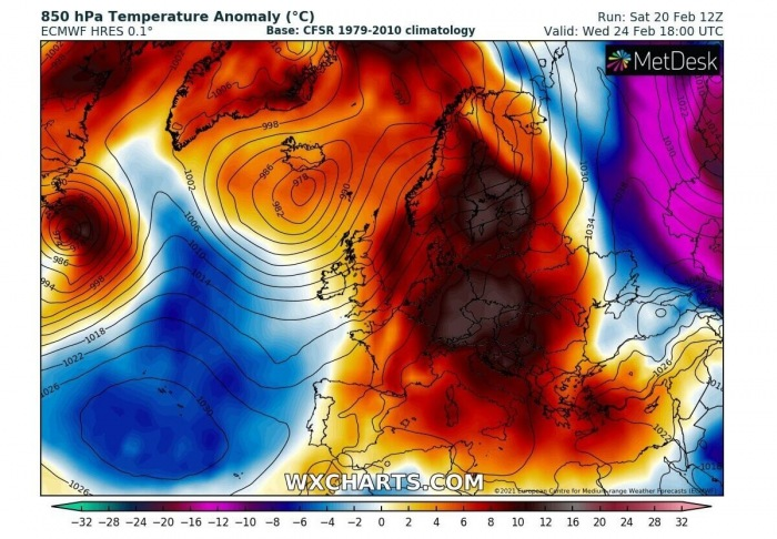 sahara-dust-storm-warm-wave-europe-temperature-anomaly-wednesday
