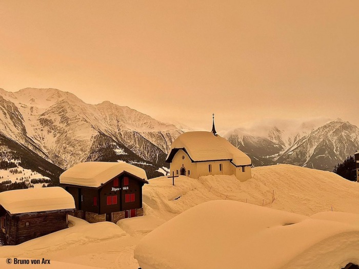 saharan-dust-orange-snow-alps