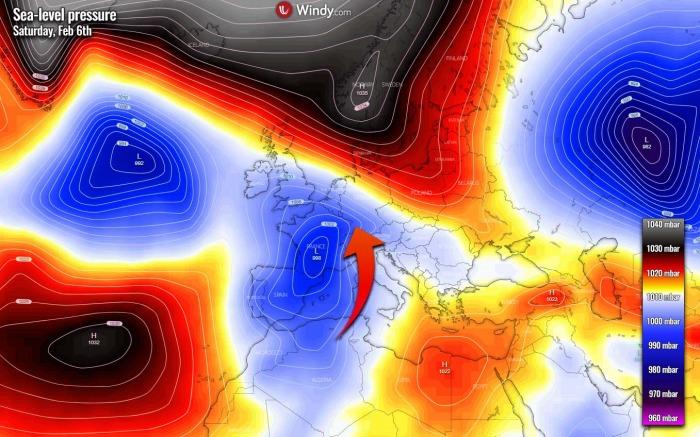 saharan-dust-orange-snow-pressure-europe