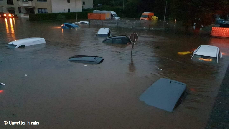 destructive-flooding-germany-belgium-car-park-flooded