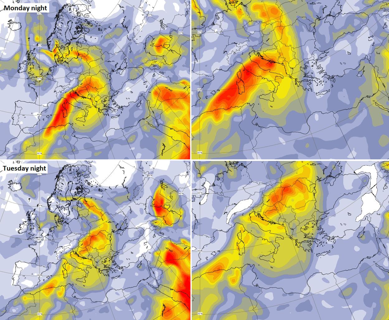 dust-cloud-europe-heatwave-forecast