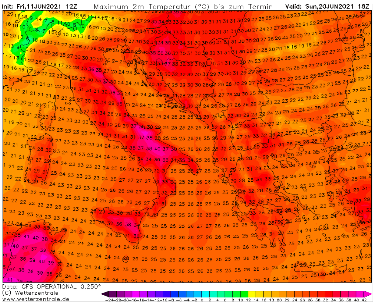 first-significant-heatwave-2021-europe-weekend-heat