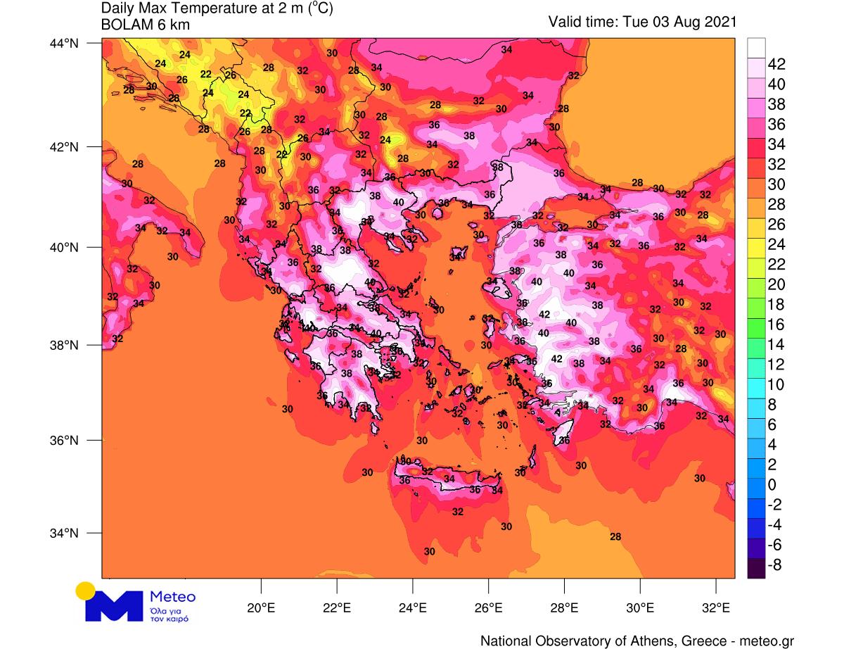 heat-dome-heatwave-greece-extreme-wildfire-threat-maximum-tuesday