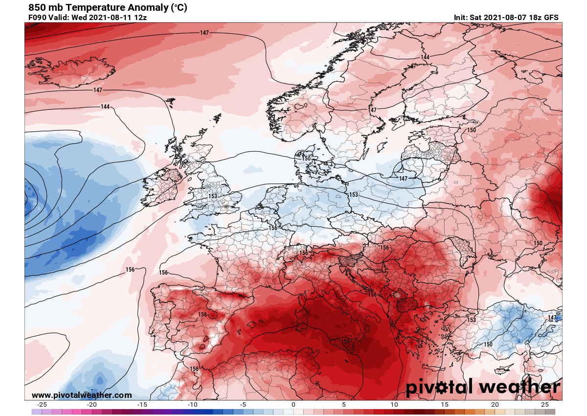 heat-dome-mediterranean-extreme-heatwave-italy-spain-temperature-anomaly