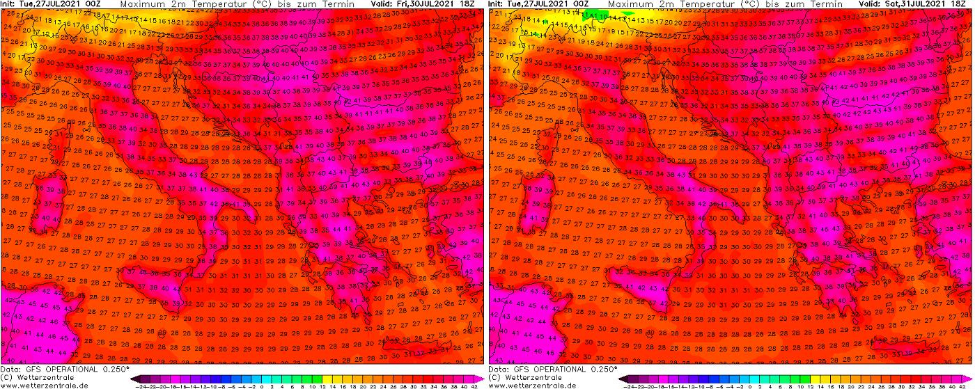 most-intense-heatwave-summer-2021-forecast-friday-saturday