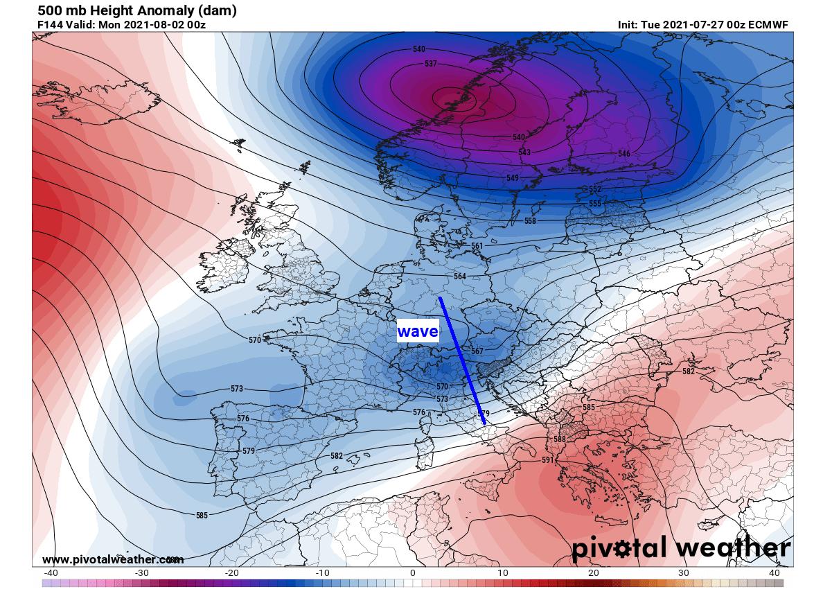 most-intense-heatwave-summer-2021-forecast-pattern-weekend