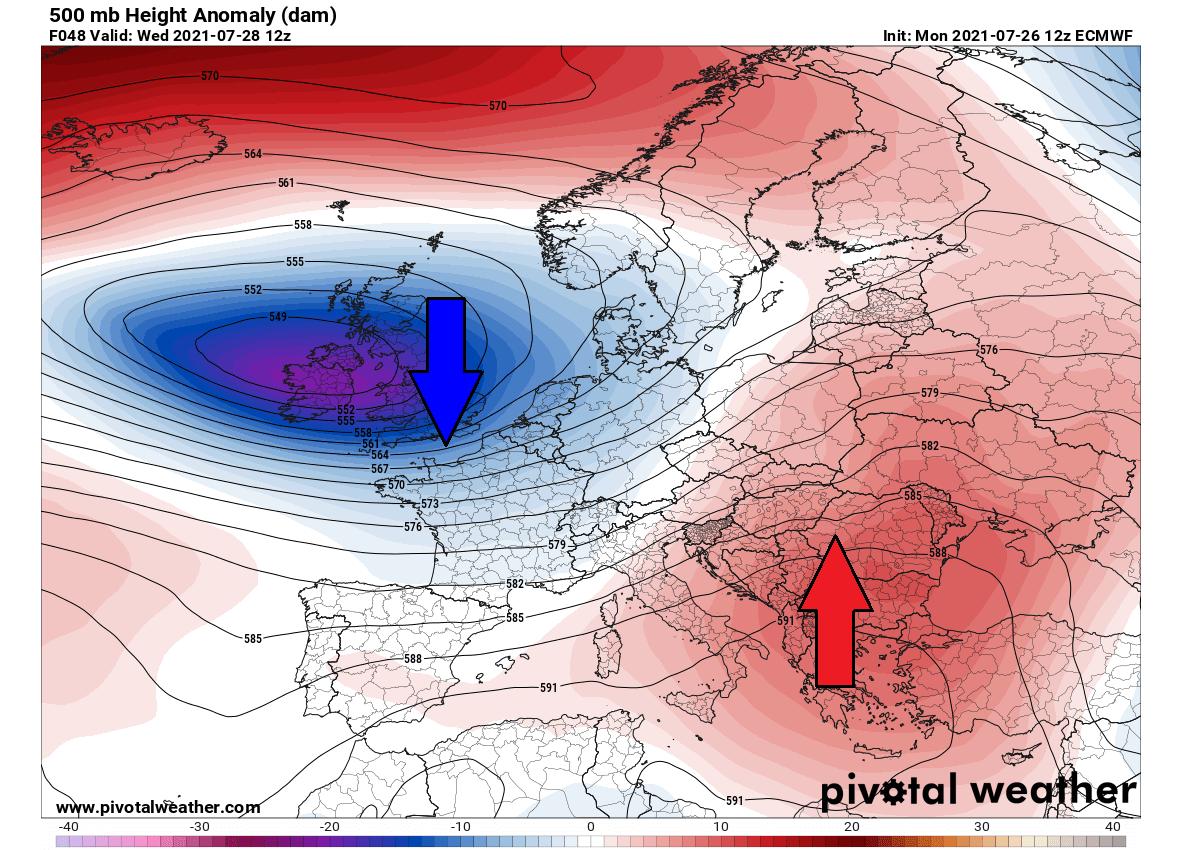most-intense-heatwave-summer-2021-forecast-pattern