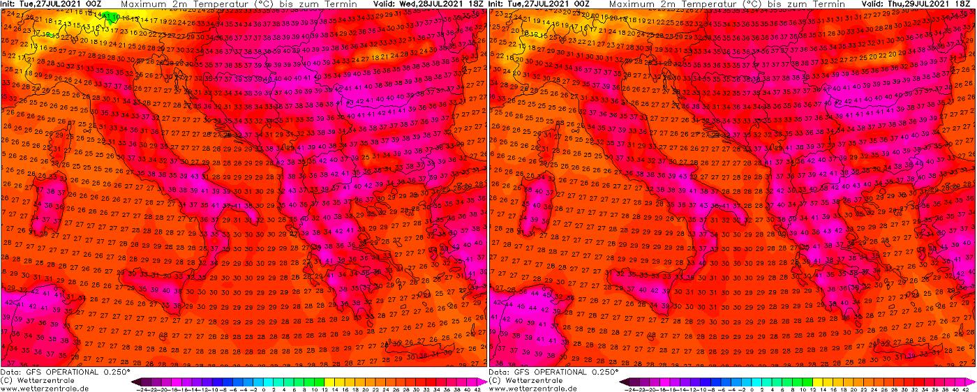 most-intense-heatwave-summer-2021-forecast-wednesday-thursday