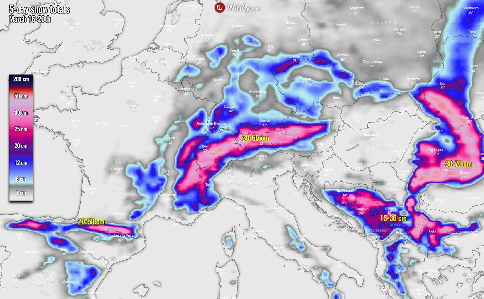 pattern-change-europe-cold-wave-snow-winter-snowfall-balkans-alps-spain