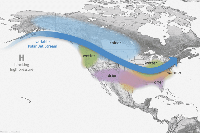 spring-weather-season-forecast-enso-la-nina-jet-stream-impact-united-states-canada