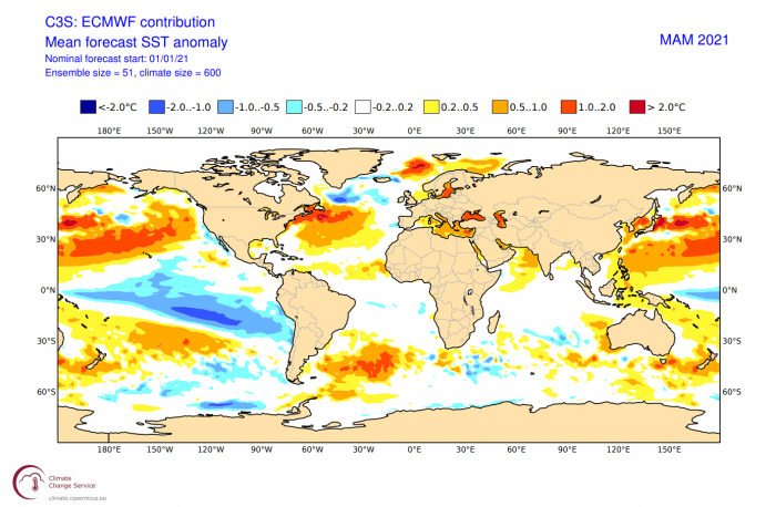spring-weather-season-forecast-united-states-europe-ecmwf-global-ocean-temperature-anomaly