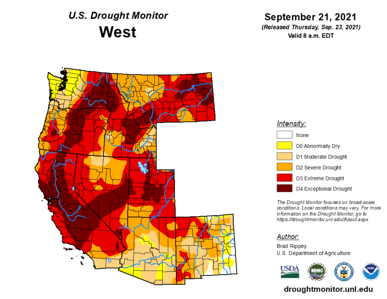 western-united-states-drought-monitor-september-2021