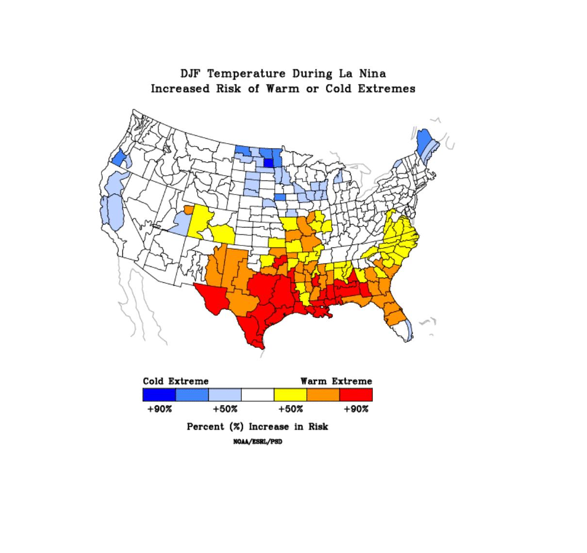 winter-forecast-season-enso-la-nina-temperature-impact-united-states