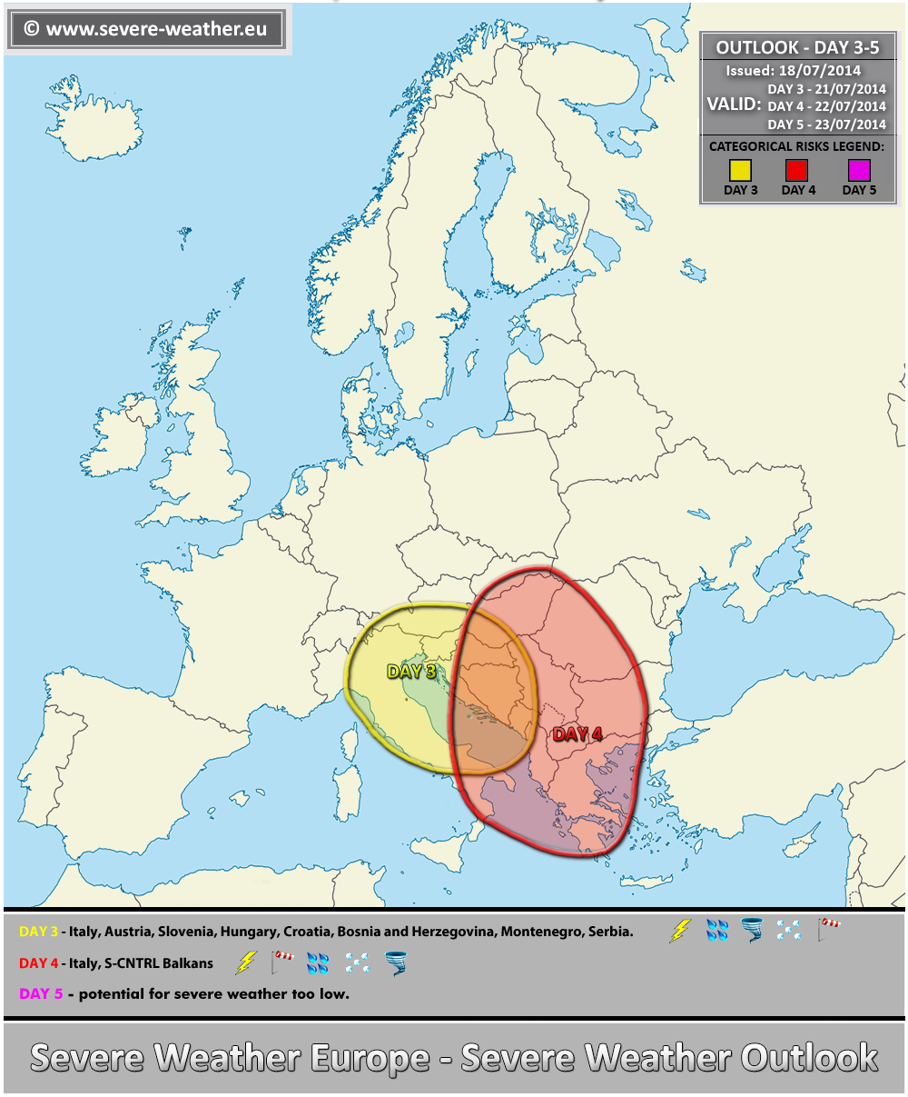 Mid-range severe weather outlook