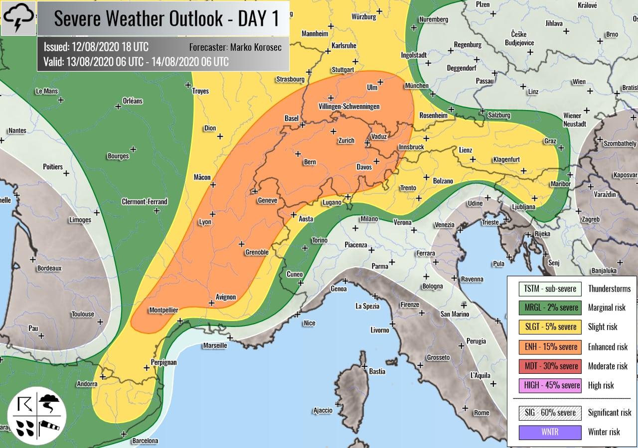 weather forecast area 1
