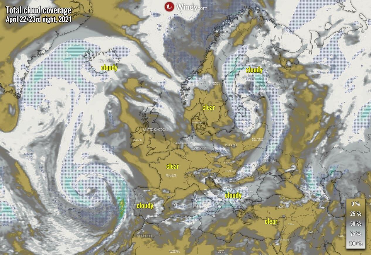 lyrid-meteor-shower-cloud-forecast-2021-europe-friday