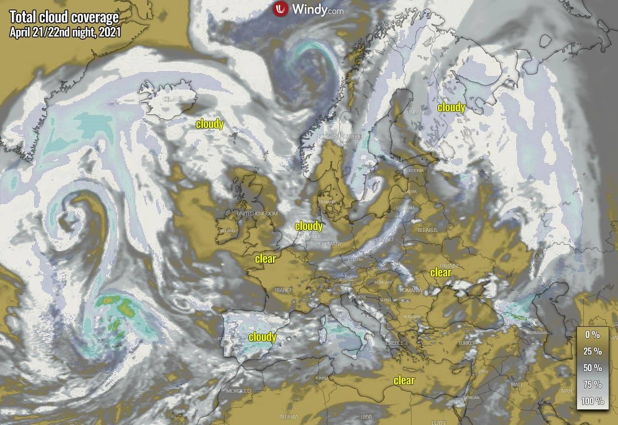 lyrid-meteor-shower-cloud-forecast-2021-europe-thursday