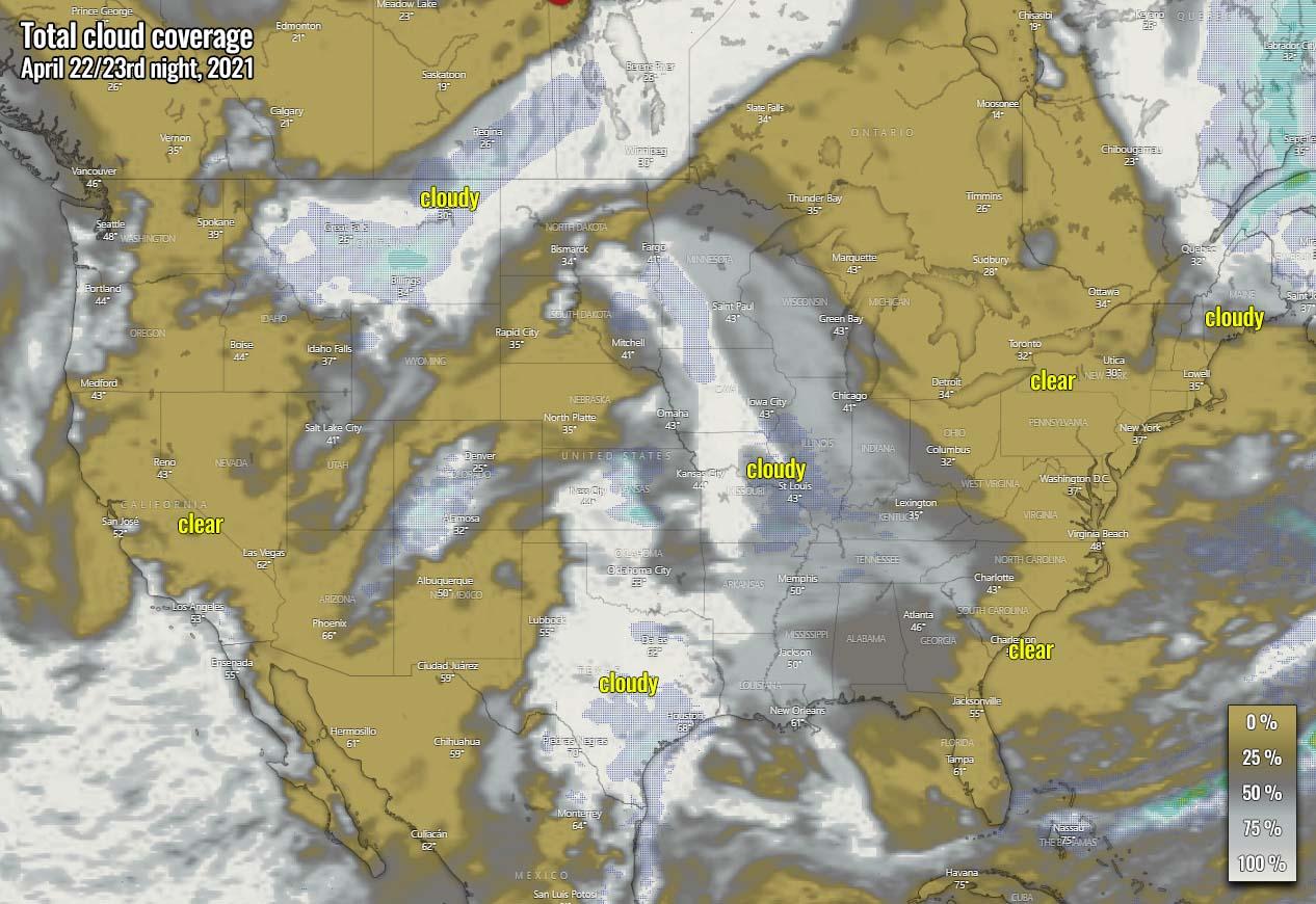 lyrid-meteor-shower-cloud-forecast-2021-united-states-friday