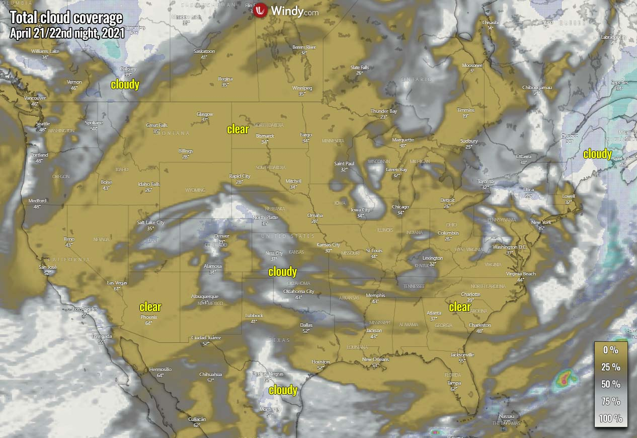 lyrid-meteor-shower-cloud-forecast-2021-united-states-thursday