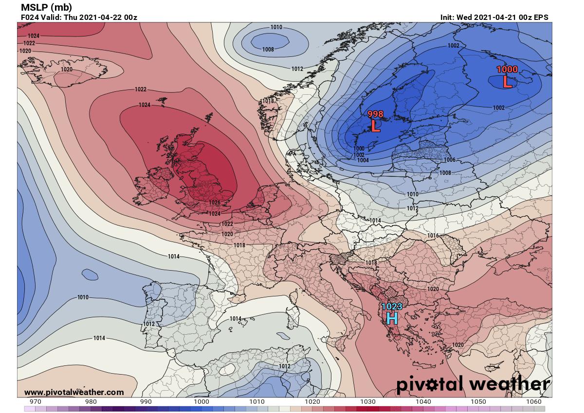 lyrid-meteor-shower-cloud-forecast-2021-weather-pattern-europe