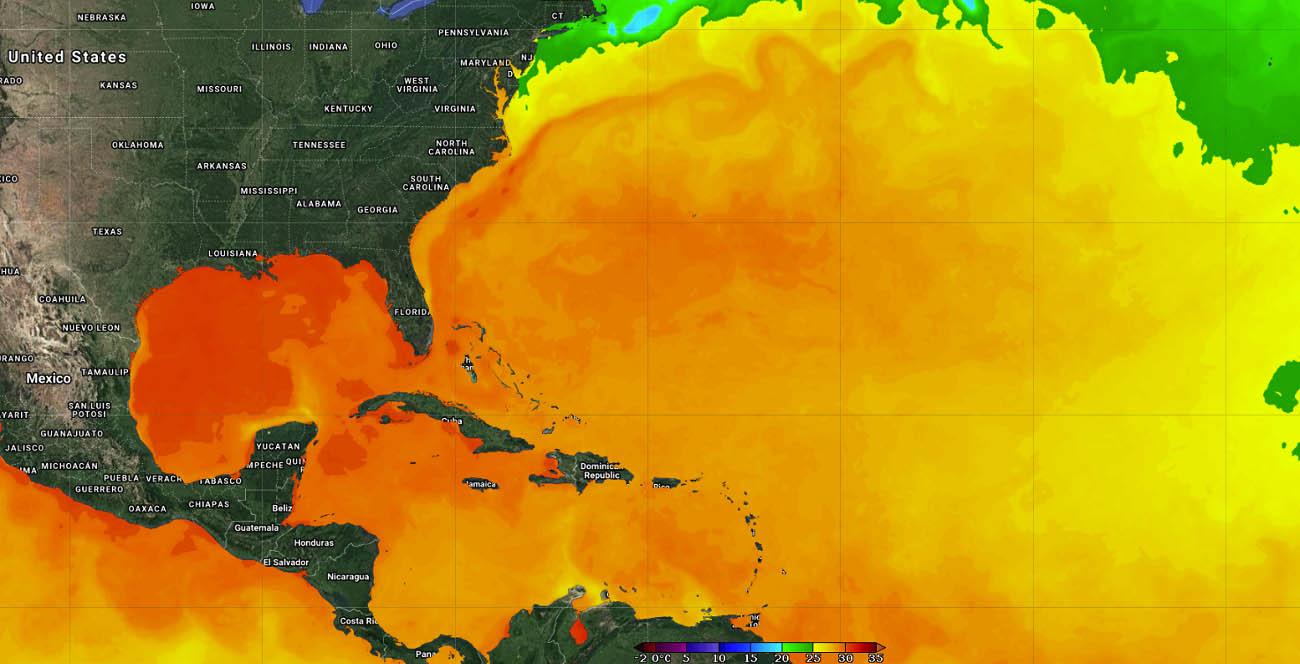 active-atlantic-hurricane-season-2021-grace-gulf-coast-yucatan-sea-surface-temperatures