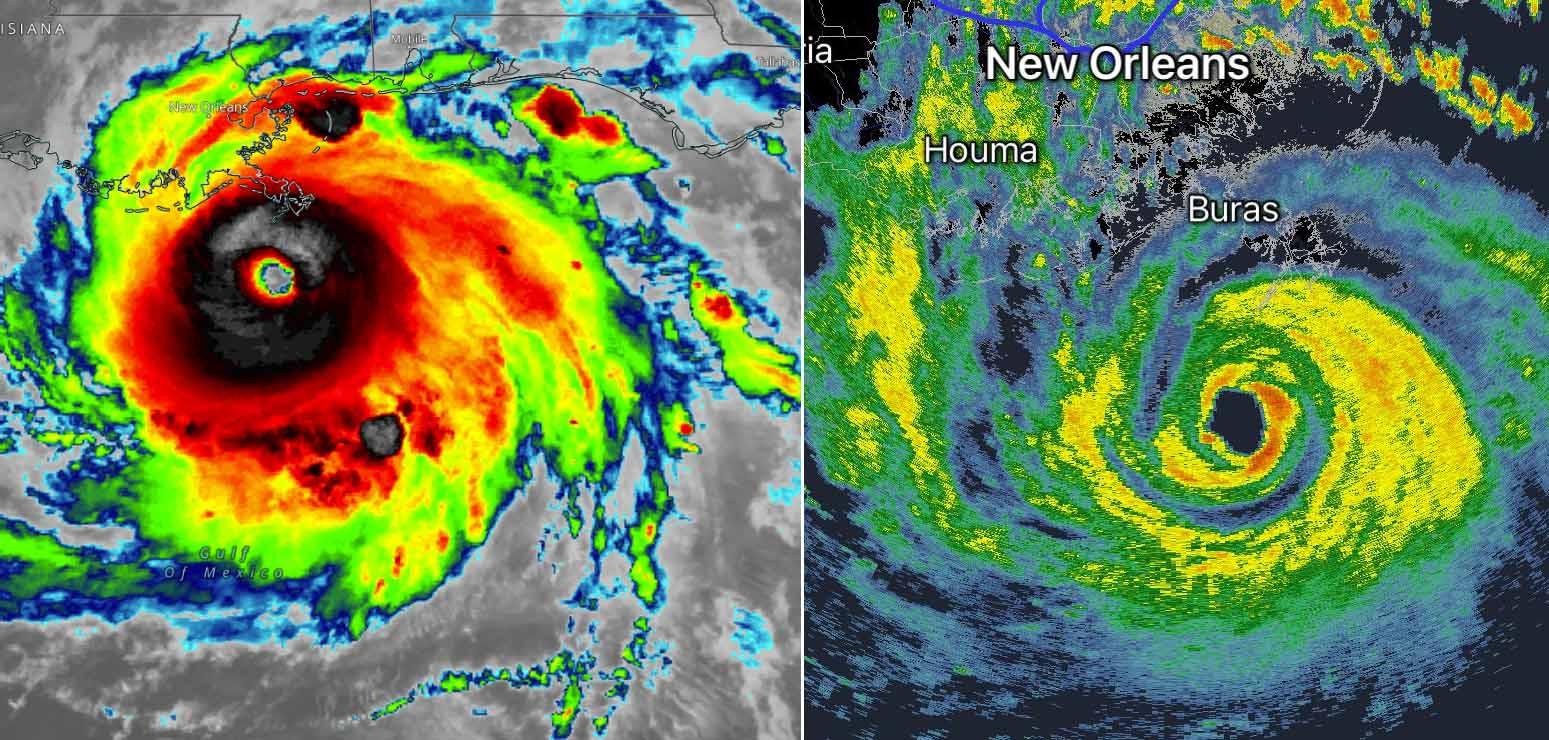 atlantic-hurricane-season-2021-ida-louisiana-radar-satellite