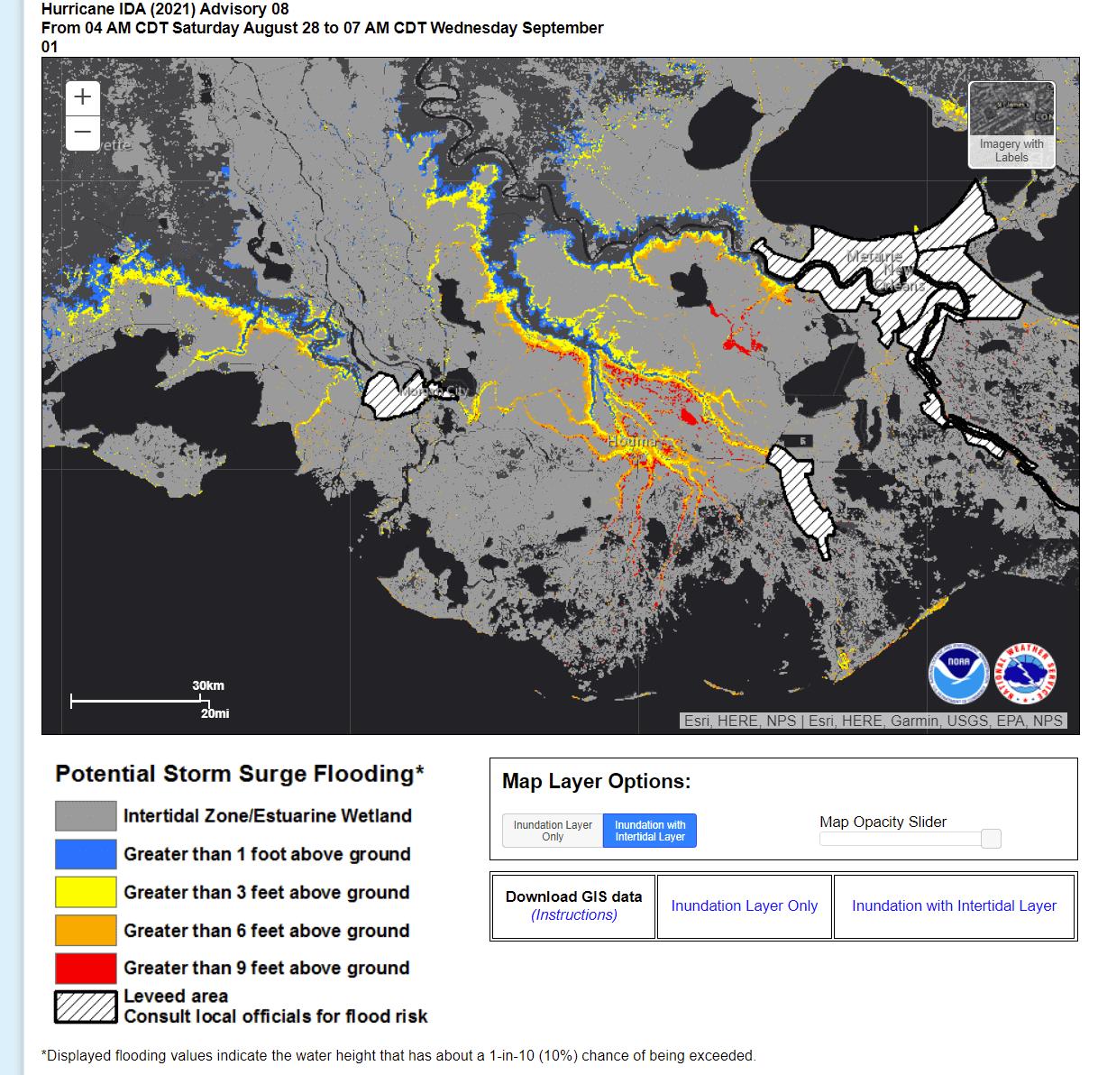 atlantic-hurricane-season-2021-ida-louisiana-storm-surge-inundation