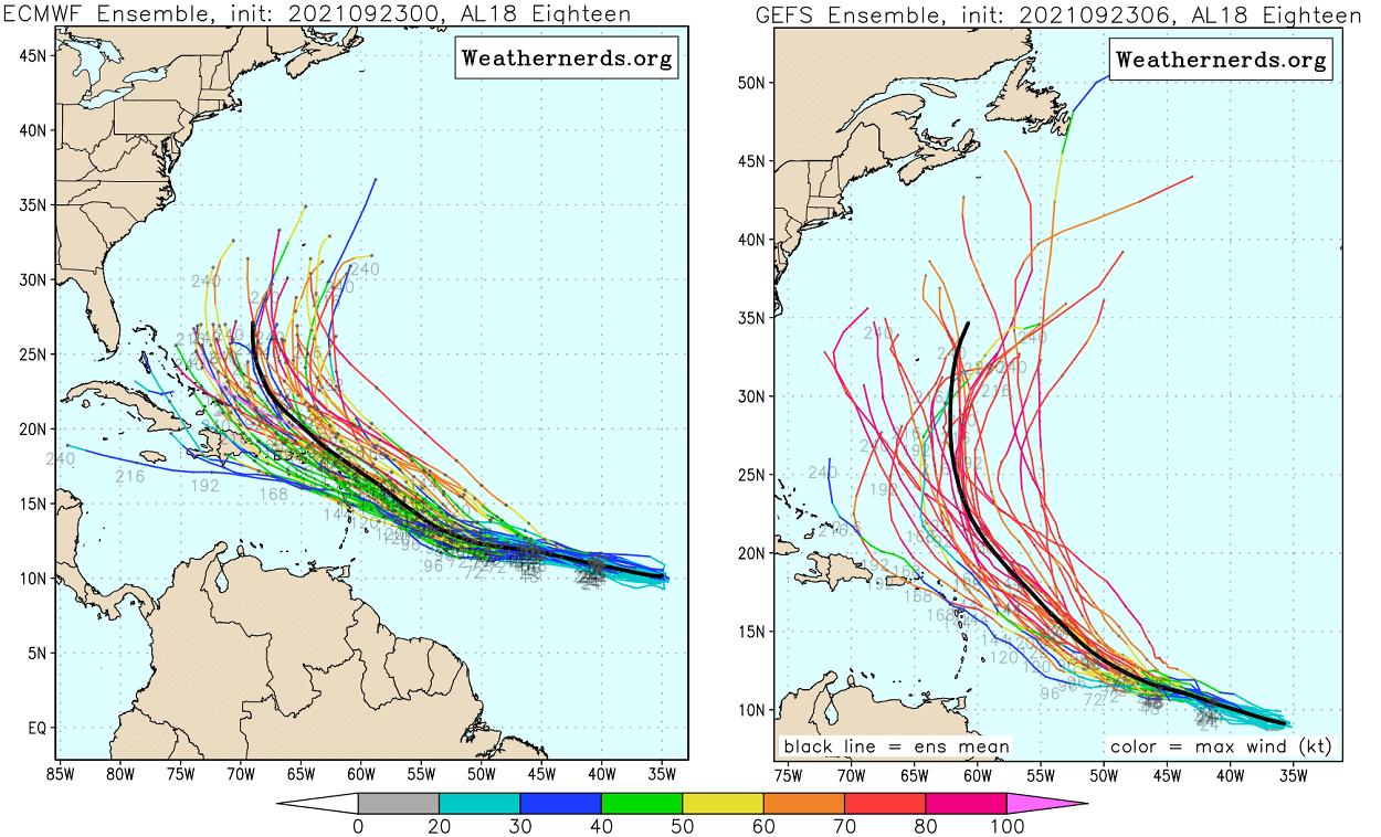atlantic-hurricane-season-2021-major-storm-sam-caribbean-ecmwf-versus-gfs-tracks