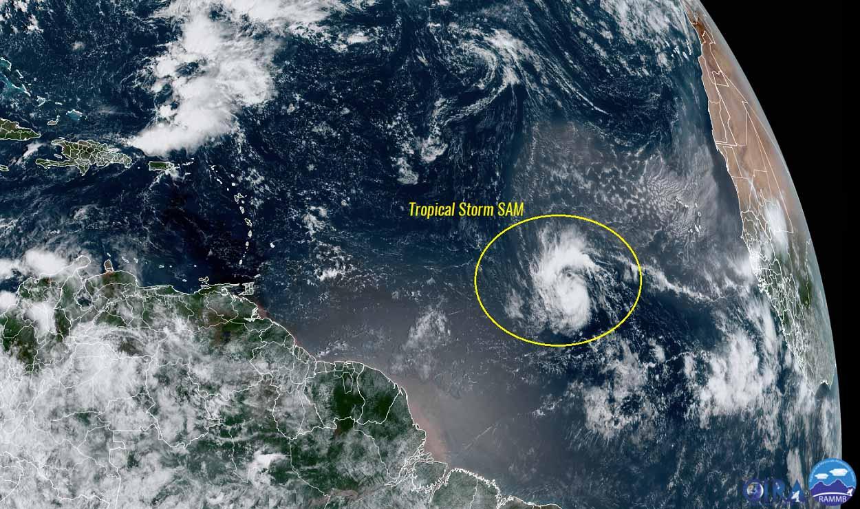 atlantic-hurricane-season-2021-major-storm-sam-caribbean-satellite