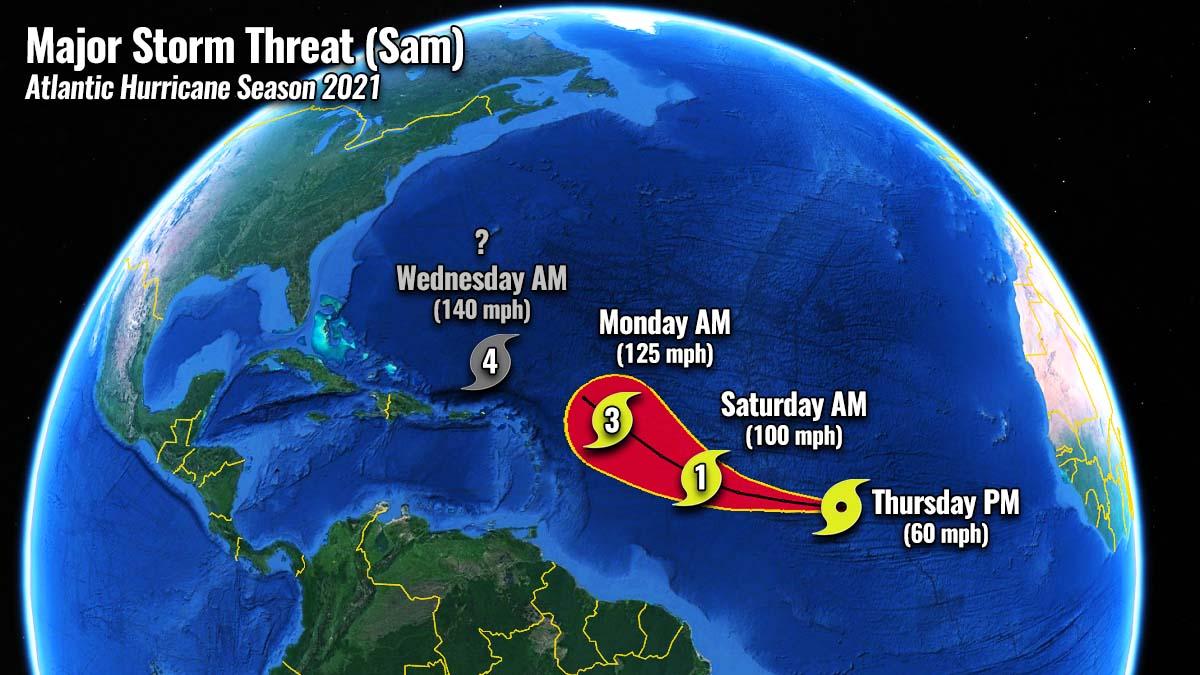 atlantic-hurricane-season-2021-major-storm-sam-caribbean
