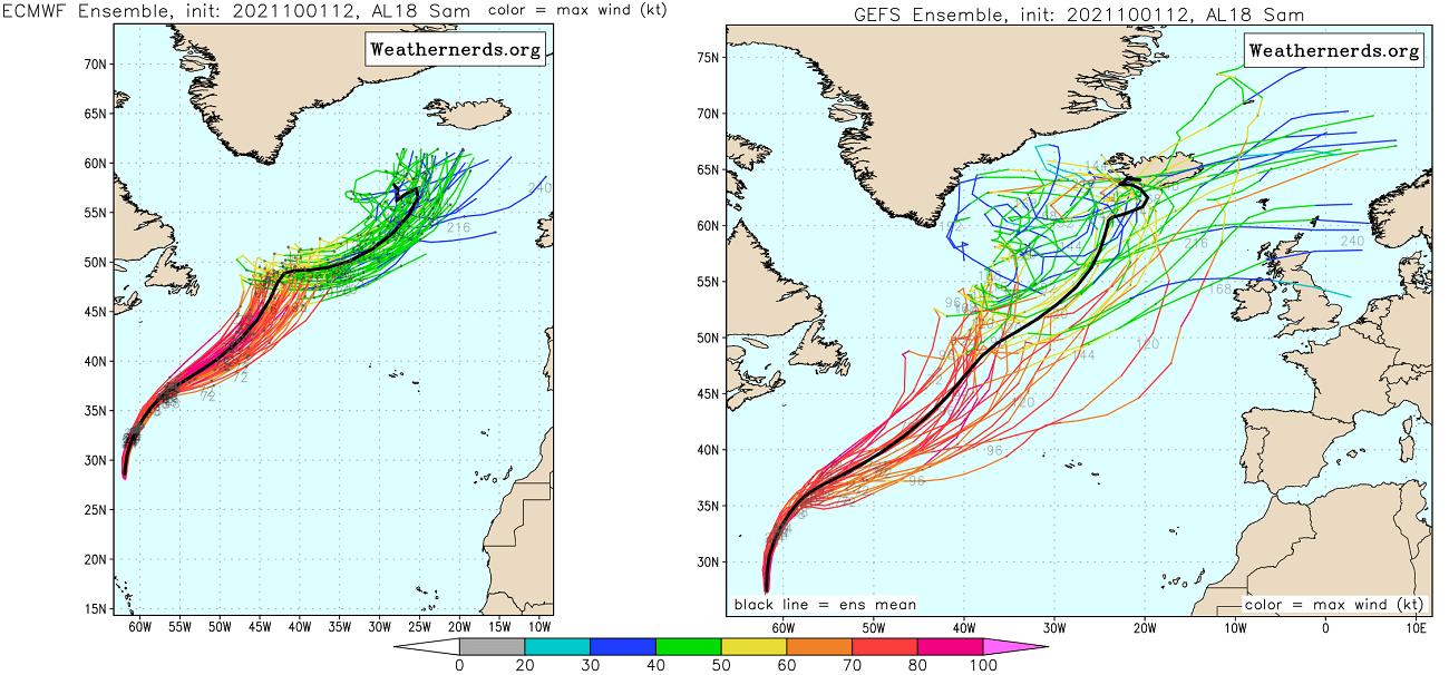 atlantic-hurricane-season-2021-most-powerful-storm-sam-bermuda-europe-ecmwf-versus-gfs