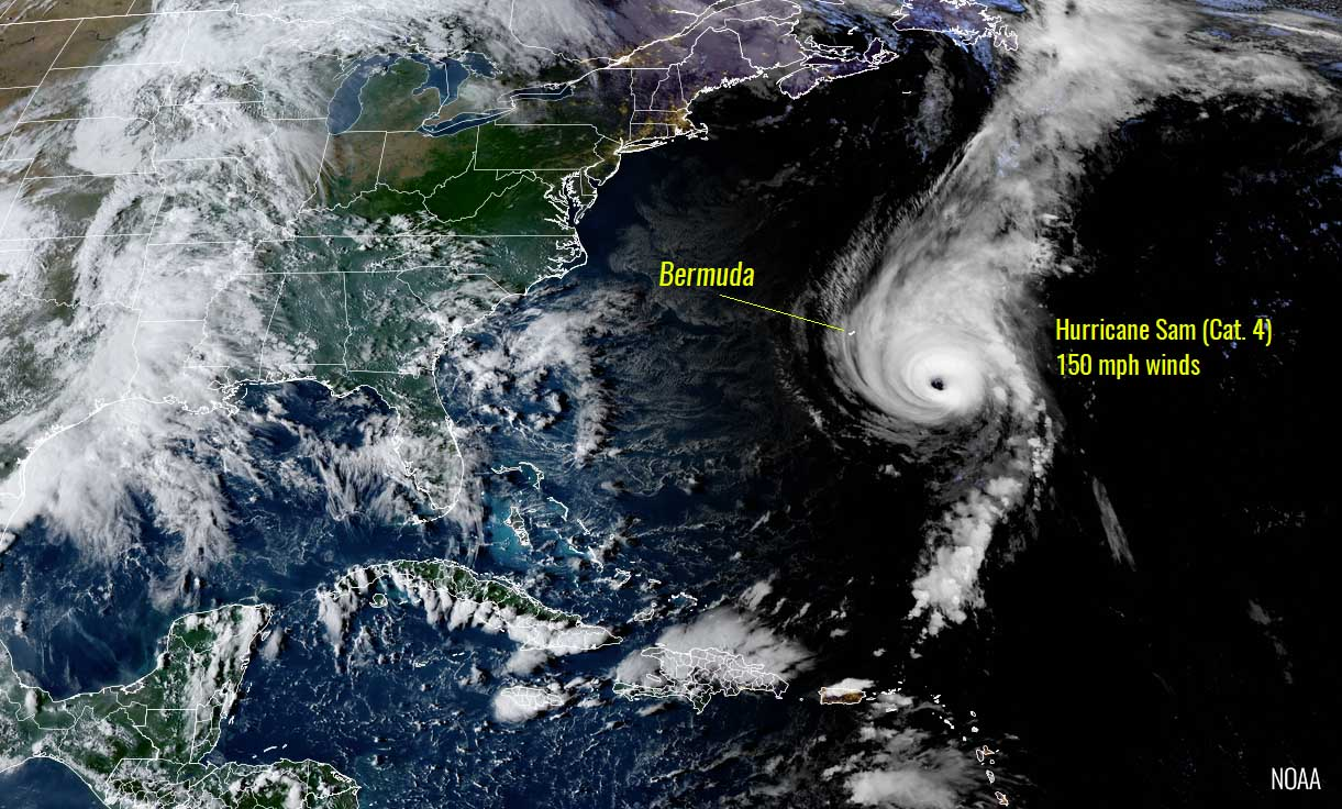 atlantic-hurricane-season-2021-most-powerful-storm-sam-bermuda-europe-geocolor-satellite