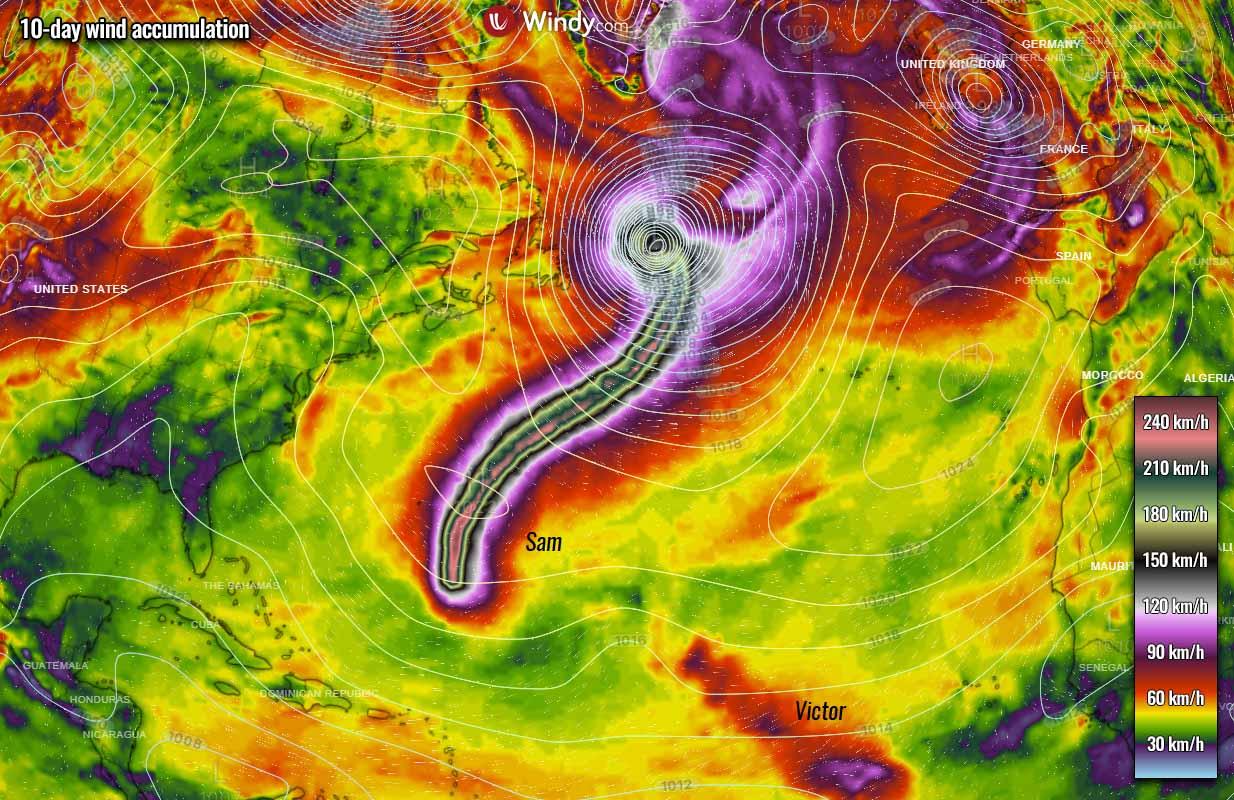atlantic-hurricane-season-2021-most-powerful-storm-sam-bermuda-europe-winds