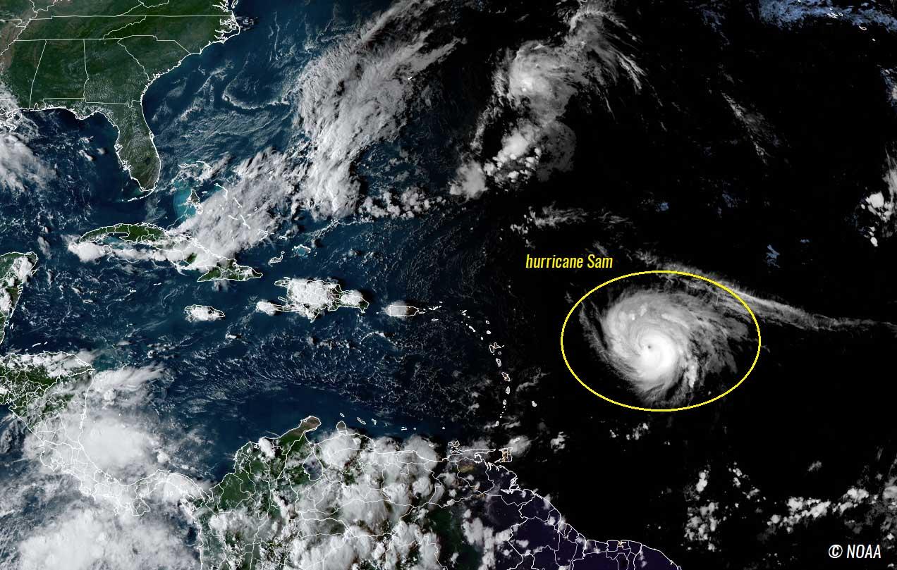 atlantic-hurricane-season-2021-sam-bermuda-canada-geocolor-satellite
