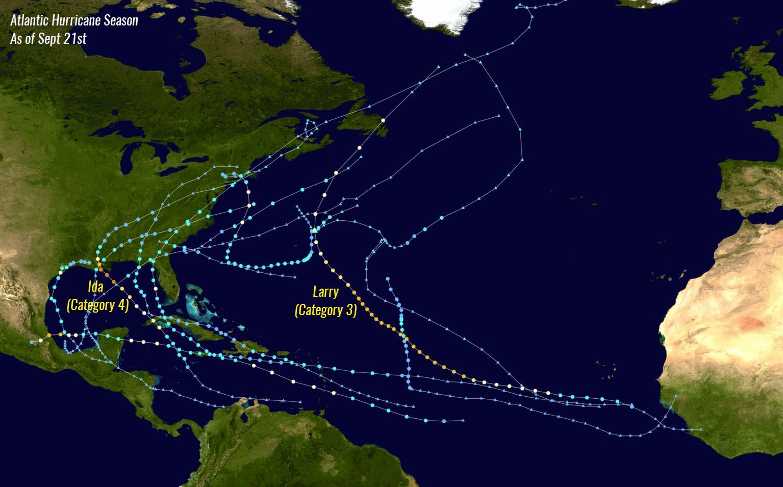 atlantic-hurricane-season-2021-sam-bermuda-canada-seasonal-statistics