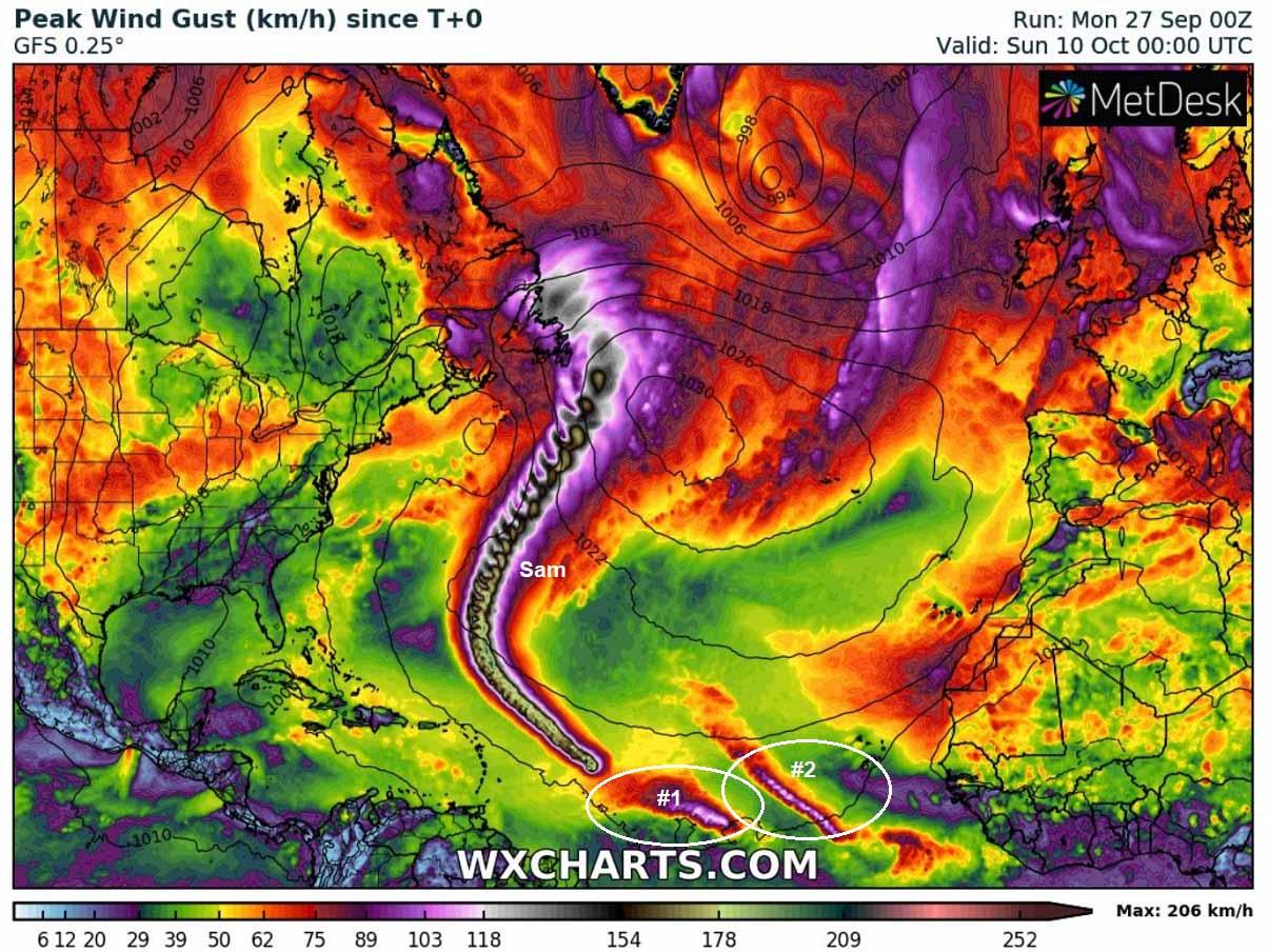 atlantic-hurricane-season-2021-sam-bermuda-canada-tropical-wave