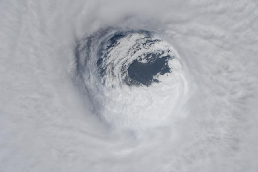 Astronaut_Auñón-Chancellors_Photo_of_Hurricane_Michael_45229616491