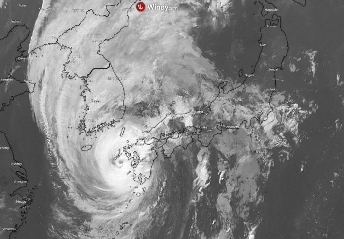 haishen-korea-infrared-satellite