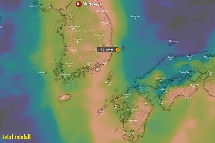 haishen-korea-rainfall-japan