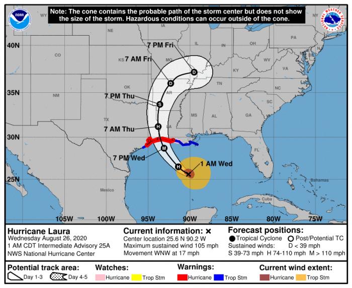 hurricane-laura-landfall-NHC-track