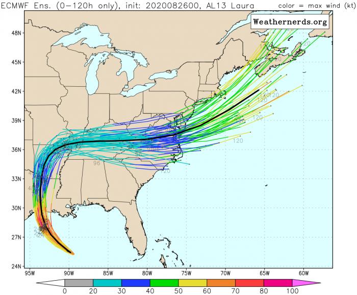 hurricane-laura-landfall-ensemble-forecast