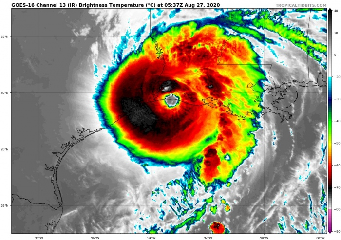 laura-landfall-infrared-satellite