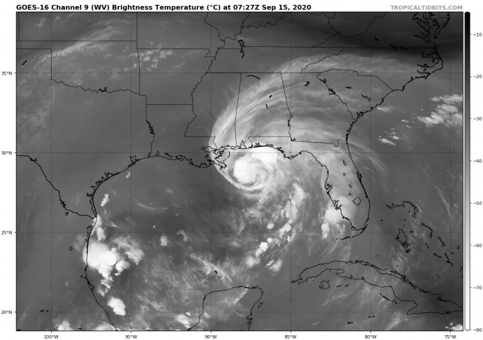 sally-intensification-water-vapor-satellite