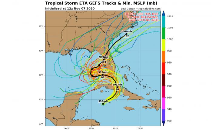 storm-eta-florida-hurricane-season-model-tracks