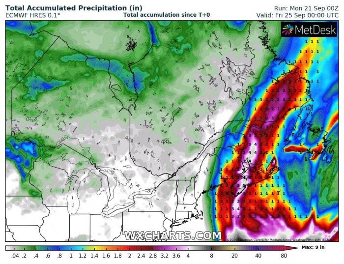 teddy-canada-landfall-total-rainfall